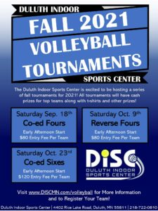 Adult Volleyball Tournaments